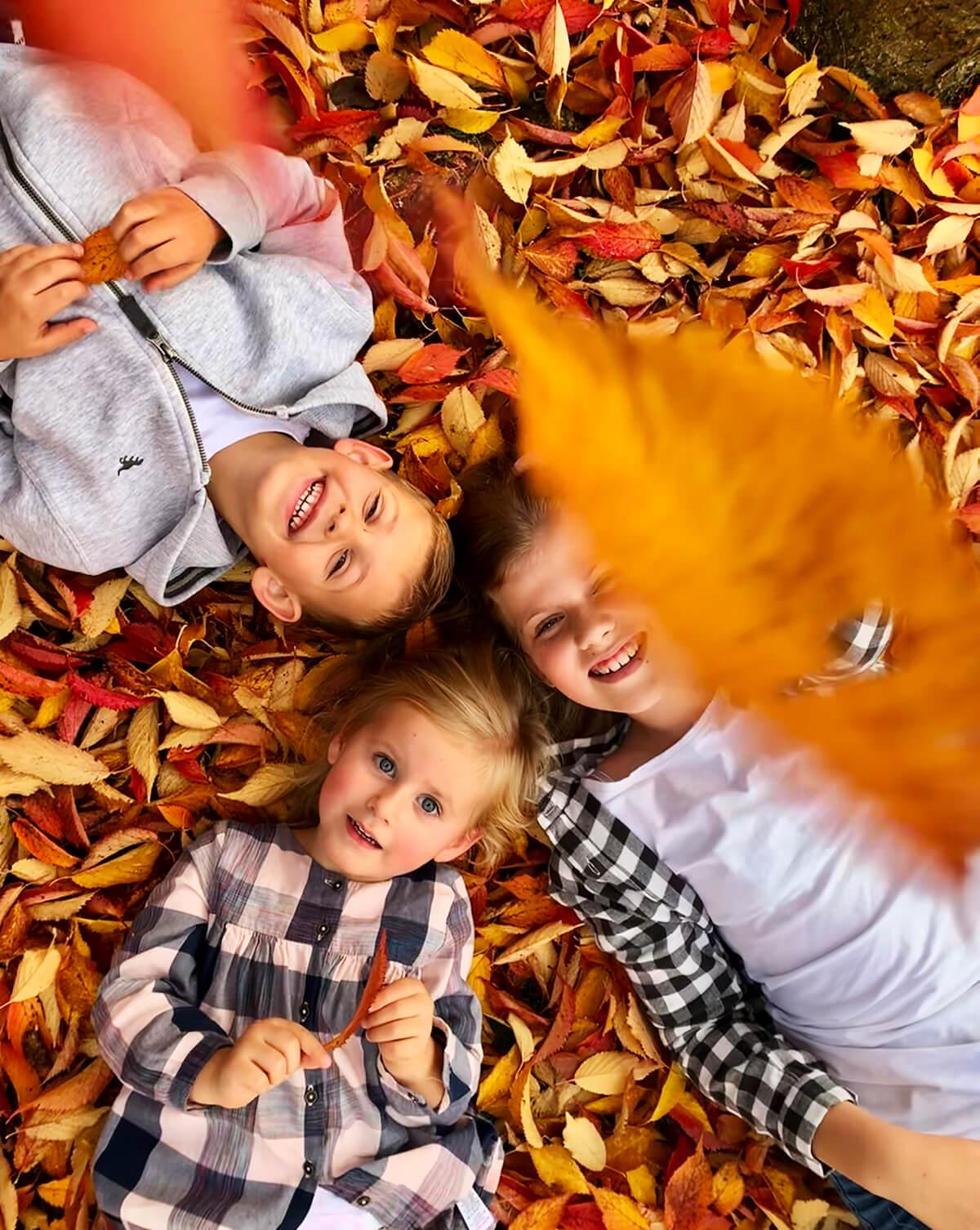 Zdjęcie trójki dzieci