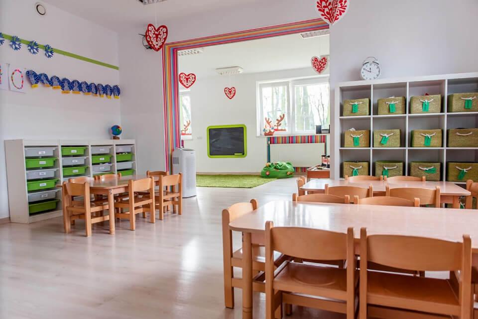 Sala Przedszkola na Wiejskiej w Milanówku