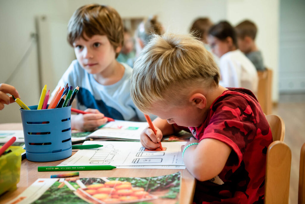 Rysujące dzieci - przedszkole Milanówek
