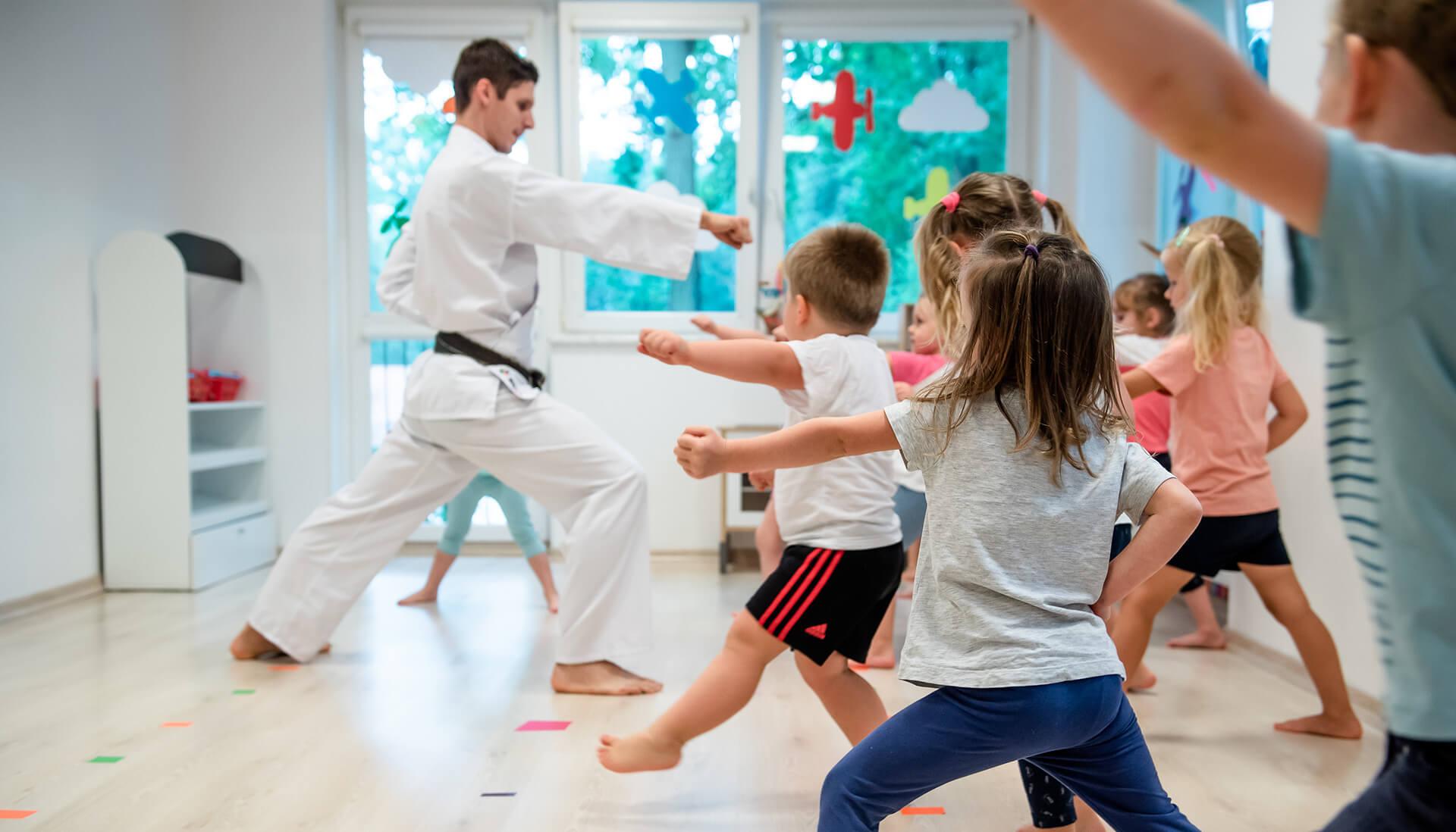 Zajęcia karate